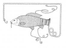 Fisch und Haken